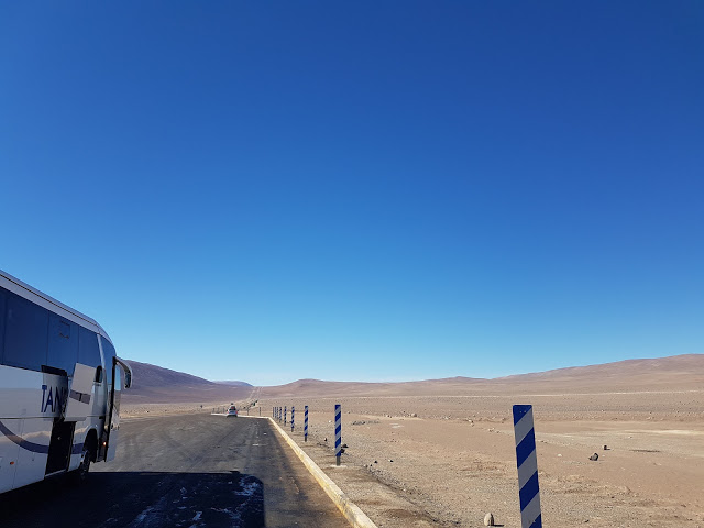 The road to get to Paranal Observatory from Antofagasta